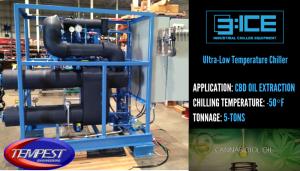 CBD Oil Extraction Chiller - Tempest