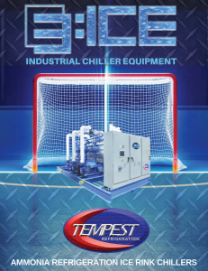 Ammonia Ice Rink Chiller - Tempest Engineering