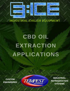 CBD & Cannabis Oil Extraction Chiller - Tempest Engineering