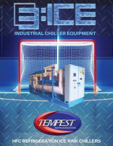 HFC Ice Rink Chiller - Tempest Engineering