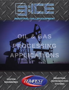 Oil & Gas Chillers - Tempest Engineering