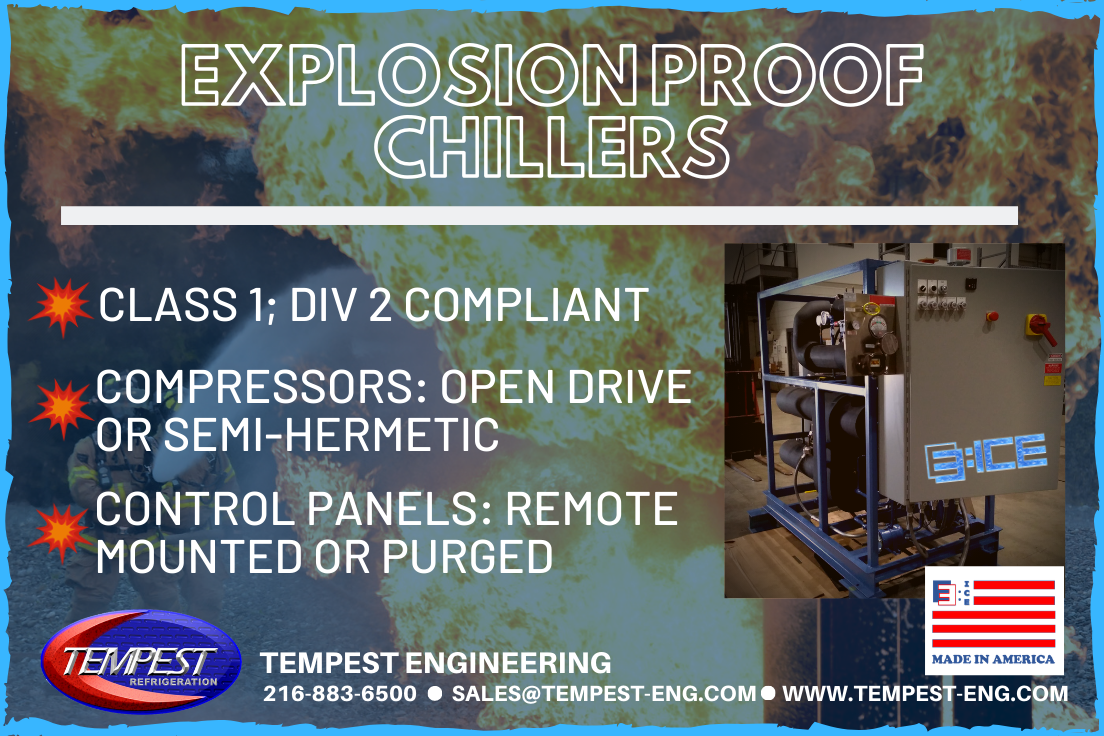 Tempest Engineering - Explosion Proof Chillers