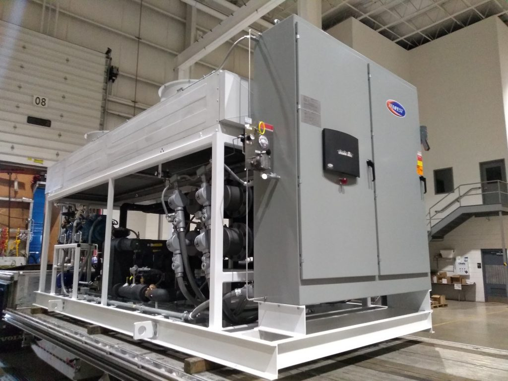 Low Temperature Chiller/TCU combo - Tempest Engineering