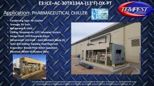 30-Ton Pharmaceutical Chiller - Tempest Engineering