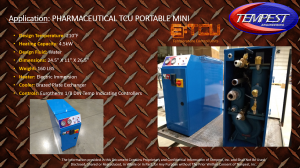 4.5kW Electric Heated TCU Mini & Portable - Tempest Engineering