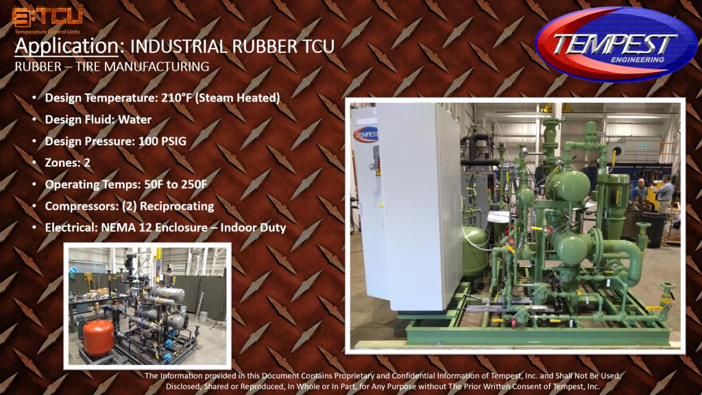 2-Zone Rubber Processing TCU - Tempest