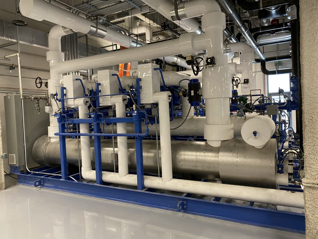 125-Ton Water Cooled Chiller (-40F Cooling) Pharmaceutical - Tempest Engineering